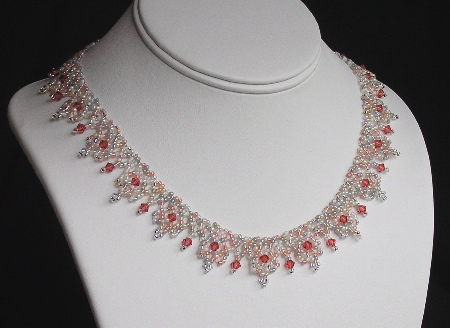 Free Seed Bead Necklace Netting Stitch Patterns