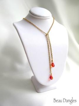 Amber Drops - Necklace