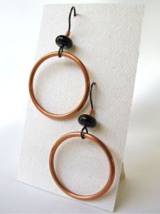 Shiny new earrings