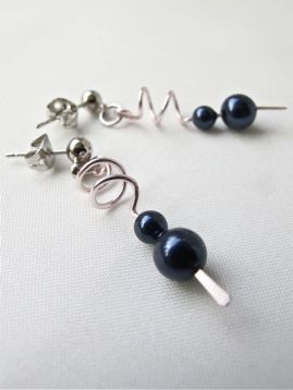 Blue Beads (Sold)