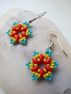 Red, Yellow & Turquoise